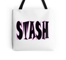 STASH ... White Tote Bag