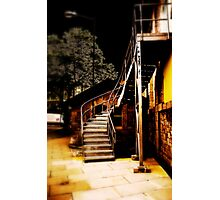 The light at the top of the stairs Photographic Print