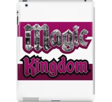 Attractions of Magic Kingdom iPad Case/Skin