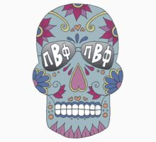 Pi Beta Phi Sugar Skull by emmytyga