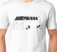 VW Type 2 Micro Bus Unisex T-Shirt