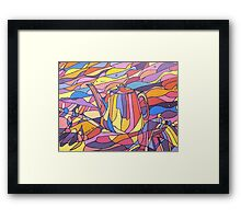 Kettle of Fish Framed Print