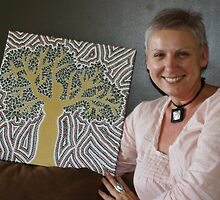 woman-tree and inspiration by Ness Fitzgerald