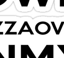 PIZZA OVEN HOUSE Dr. Steve Brule Design by SmashBam Sticker