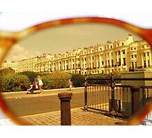 Lens view Photographic Print