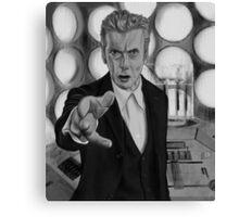Twelft Doctor- Old Tardis Canvas Print