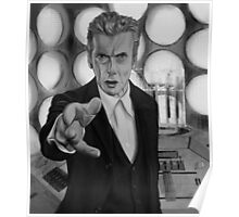 Twelft Doctor- Old Tardis Poster