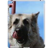 Let me lick my lips first Momma! iPad Case/Skin