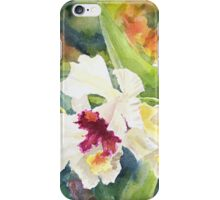 White Orchids iPhone Case/Skin