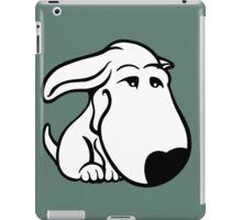 Soppy Bull Terrier White Coat iPad Case/Skin