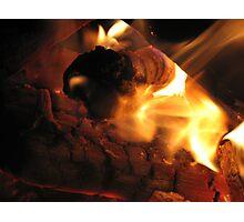 Toasty Fire Photographic Print