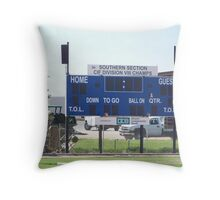 Where Teenagers Score Throw Pillow