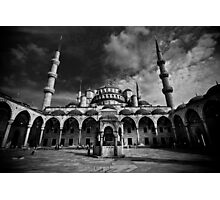 Blue Mosque Photographic Print