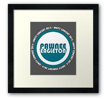 Pawnee-Eagleton unity concert 2014 (2.0) Framed Print