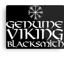 Cool 'Genuine Viking Blacksmith' T-shirts, Hoodies, Accessories and Gifts Metal Print