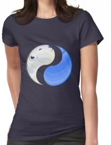 Climate Change Womens Fitted T-Shirt