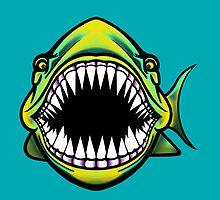 Angry Fish Design  by Sookiesooker