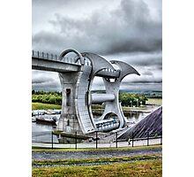 Falkirk Wheel Photographic Print