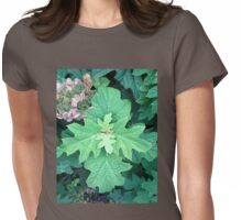 Hydrangea Leaves 1 Womens Fitted T-Shirt