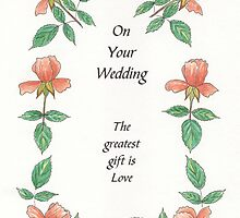 Wedding Card 1 by Olive Denyer