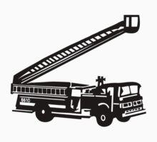 Fire truck Kids Tee