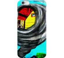 WIZARD OF OZ, TWISTER iPhone Case/Skin