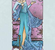 The Lady of Ice (La Dame de Glace) by DiHA