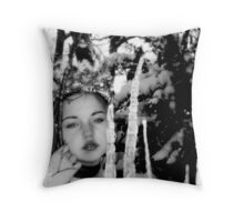 Ice Forrest Princess Throw Pillow