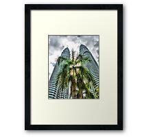 Petronas Towers, Kuala Lumpur, Malaysia Framed Print