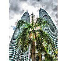 Petronas Towers, Kuala Lumpur, Malaysia Photographic Print