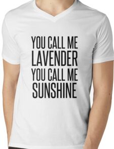 MERMAID MOTEL 3 Mens V-Neck T-Shirt