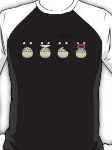 Totoro's Faces T-Shirt