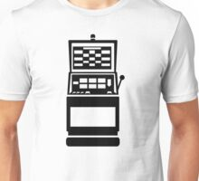 Slot machine casino Unisex T-Shirt