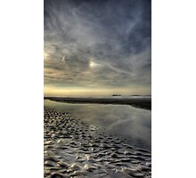 White Rocks Beach -  Dusk - Portrush, Co. Antrim  Photographic Print