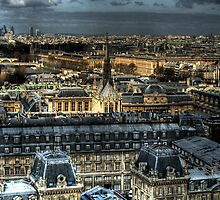 Paris From Above by Jason Andreas