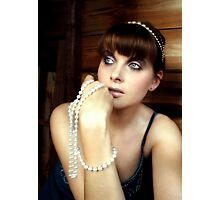 Pearls Photographic Print