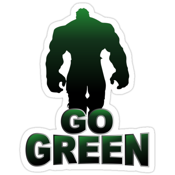 GoGreen Hulk by ssdesigns08