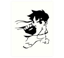 chibi Ryu Art Print