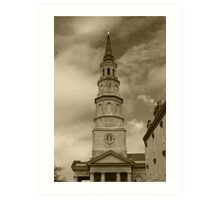 Saint Philip's Episcopal Church Art Print