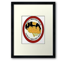 Undead Liberation Army Framed Print