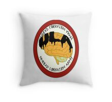 Undead Liberation Army Throw Pillow