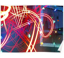 Light Lasers Poster