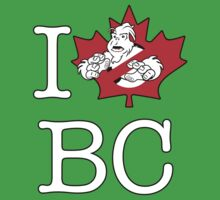I PNW:GB BC (black) Maple Leaf v2 Kids Clothes