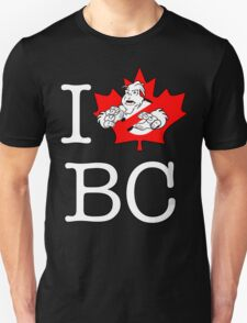 I PNW:GB BC (black) Maple Leaf v2 T-Shirt