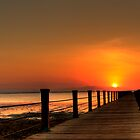 Jetty Sunrise by fraktion