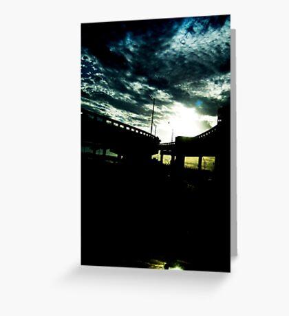 Night Light Greeting Card