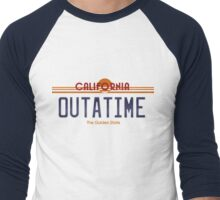 Outatime Men's Baseball ¾ T-Shirt