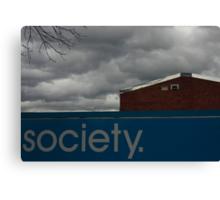 Society Canvas Print