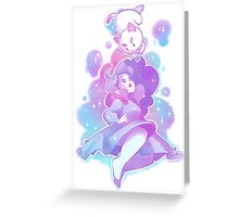 Bee and Puppycat Greeting Card