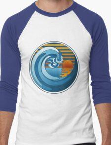 Circle Landscape Men's Baseball ¾ T-Shirt